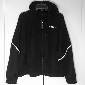 NEW Nike Sportswear Zip Black Hoodie Jacket Size M